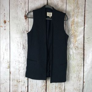 Anthropologie elevenses tweed vest